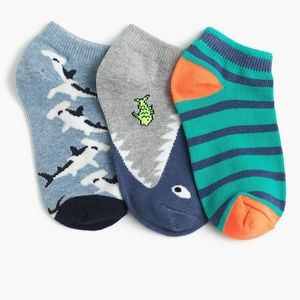 NWT J. Crew shark ankle socks